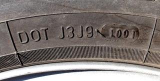 A data de validade dos pneus não depende da data de fabrico