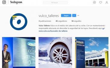 Vulco já está presente no Instagram