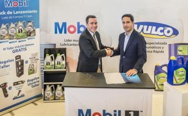 Vulco oferece lubrificantes Mobil nas suas oficinas