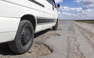 Como atuar se não conseguiu evitar um buraco na estrada
