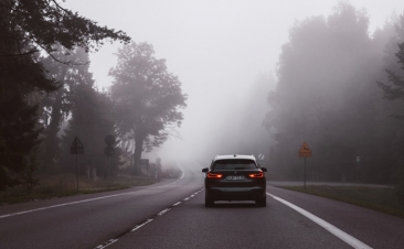 Como conduzir com nevoeiro