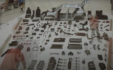 Gostava de saber como ficam as peças de um carro após 100.000 km?