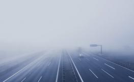 Sabe conduzir com nevoeiro?