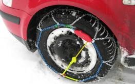 Tipos de correntes para neve