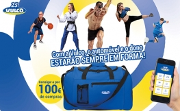 Vulco oferece-lhe um saco de desporto na sua nova promoção