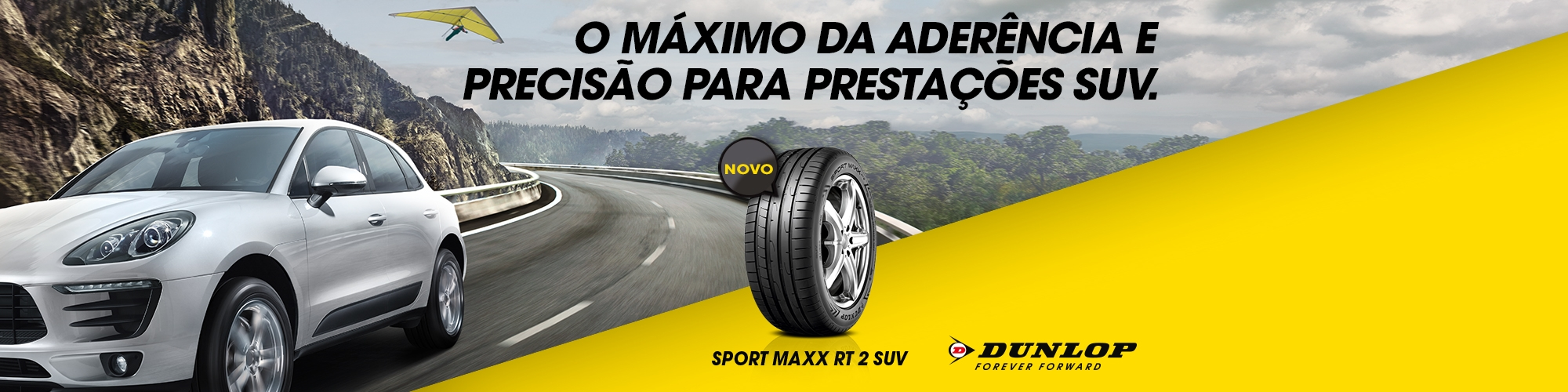 DUNLOP - NOVO SPORT MAXX RT 2 SUV