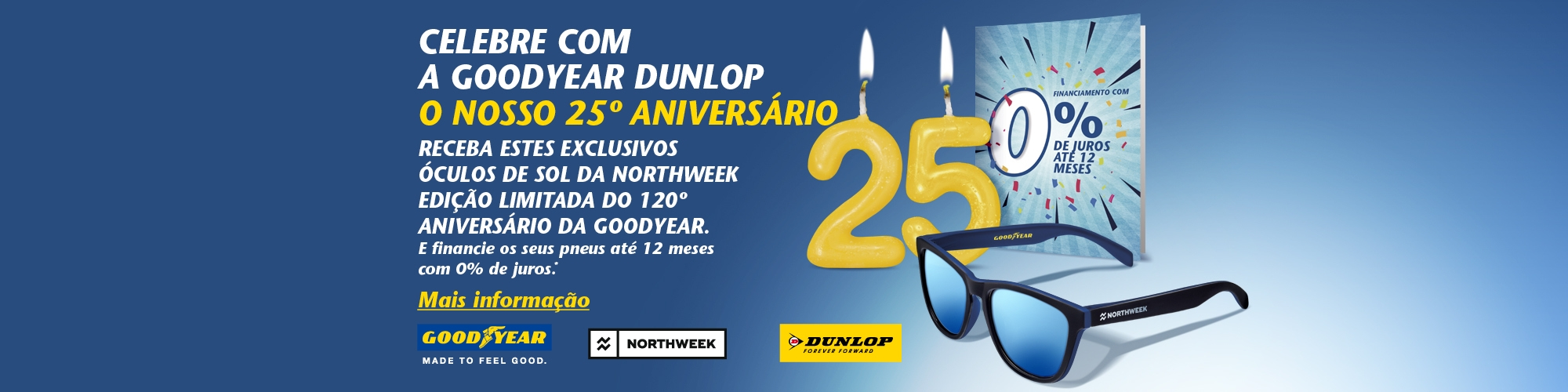 Goodyear 120 años - Gafas Northweek