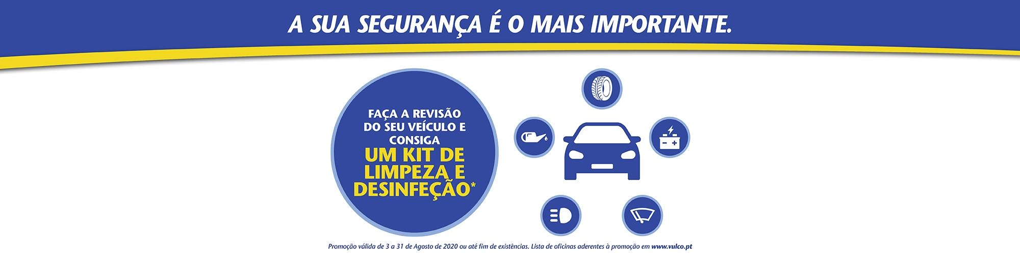 Campanha Vulco Agosto - Kit de Limpeza